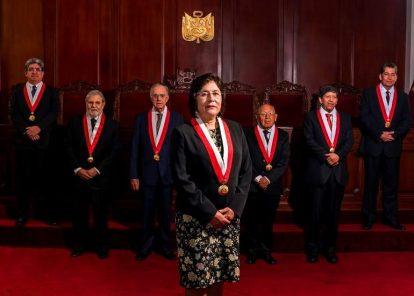 Quorum requerido para sesiones del TC es de cinco magistrados