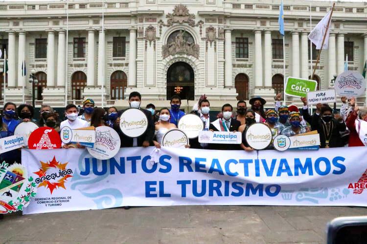 Reactivación del turismo Arequipa