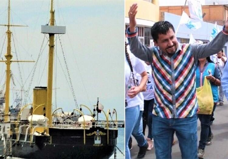 Gobernador de Arequipa Elmer Cáceres Llica: Réplica del Huáscar va sí o sí
