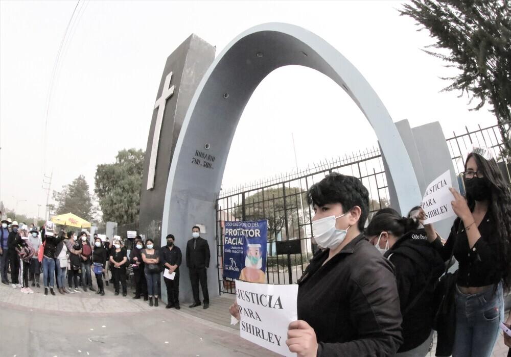 Arequipa: menores tenían afecto a Shirley, cuidadora de albergue, reconocen asfixia fue accidental