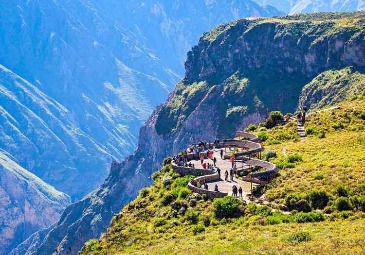 Arequipa: 63 mil visitantes en 2021 recibió valle del Colca, por reactivación del turismo