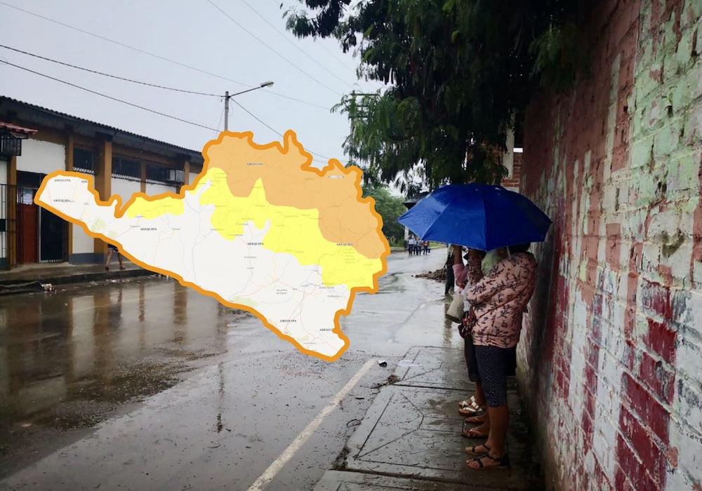 Arequipa: pronostican precipitaciones de moderada a fuerte intensidad desde el lunes