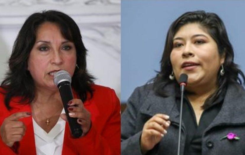 """Boluarte y Chávez ante posición PL: """"pongamos por delante el interés de la patria"""""""