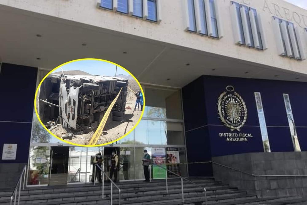 Arequipa: abren investigación a chofer de Tuti Tours y suspenden habilitación a bus