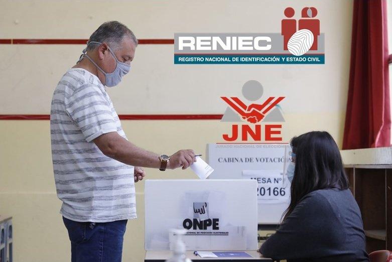 JNE, Onpe y Reniec: no hay tiempo para realizar elecciones primarias hacia 2022