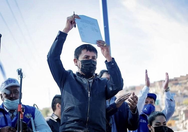 Arequipa: Cáceres Llica apuesta por Adenda 13, pide al Consejo Regional aprobarlo