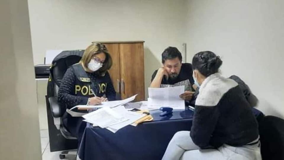 Gobernador Elmer Cáceres Llica detenido  por presunta corrupción (VIDEO)