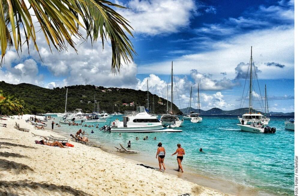 """Las Islas Vírgenes Británicas son conocidas como un """"paraíso fiscal"""""""