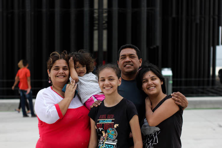 familia de un venezolano