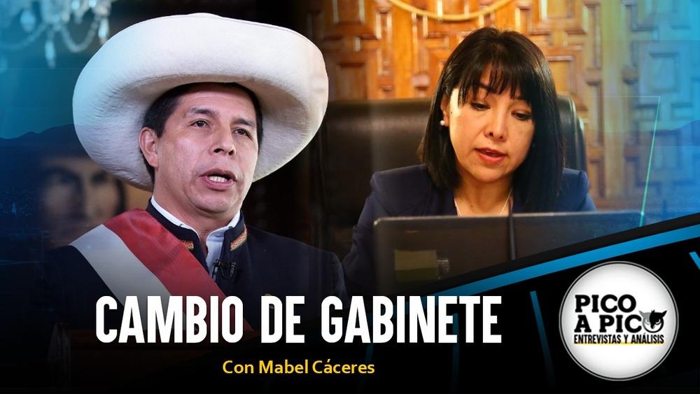 Pico a Pico: Pedro Castillo juramenta gabinete de Mirtha Vásquez