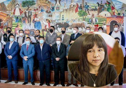 Las 'papas calientes' que premier Mirtha Vásquez deberá resolver en Arequipa