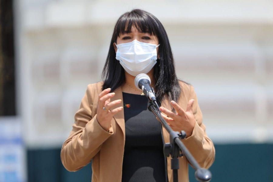 Mirtha Vásquez habló de la anemia