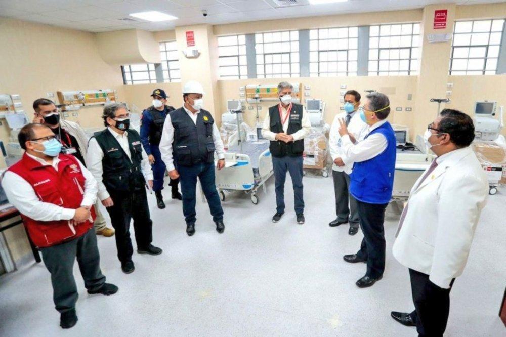 Nueva Emergencia de hospital covid Arequipa no atenderá por lo menos en dos meses más