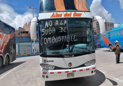 Arequipa: transportistas paralizan este 26, por precio del combustible