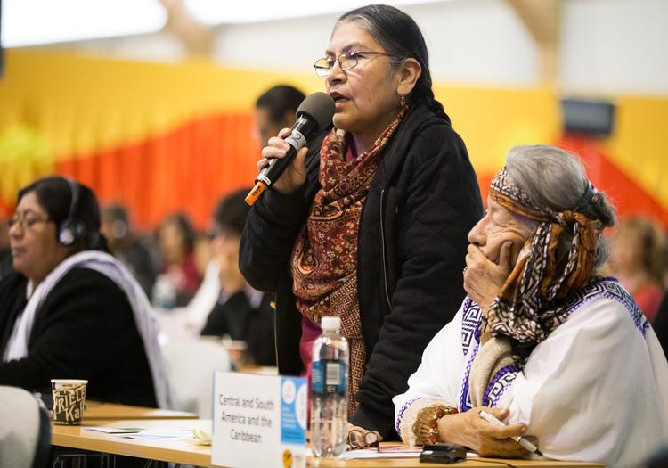 Tarcila Rivera Zea activista peruana