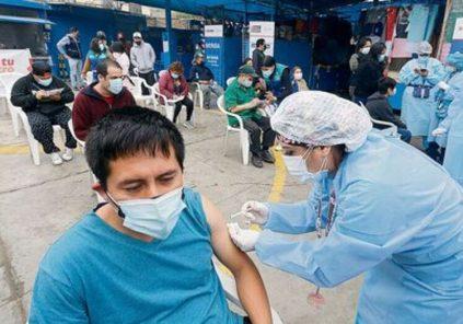 Arequipa: campaña de vacunación para rezagados 1.º dosis mayores de 18 años, este sábado
