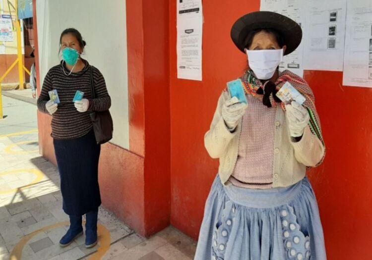 Arequipa: Bono Yanapay benefició a 7 mil 540 personas de escasos recursos